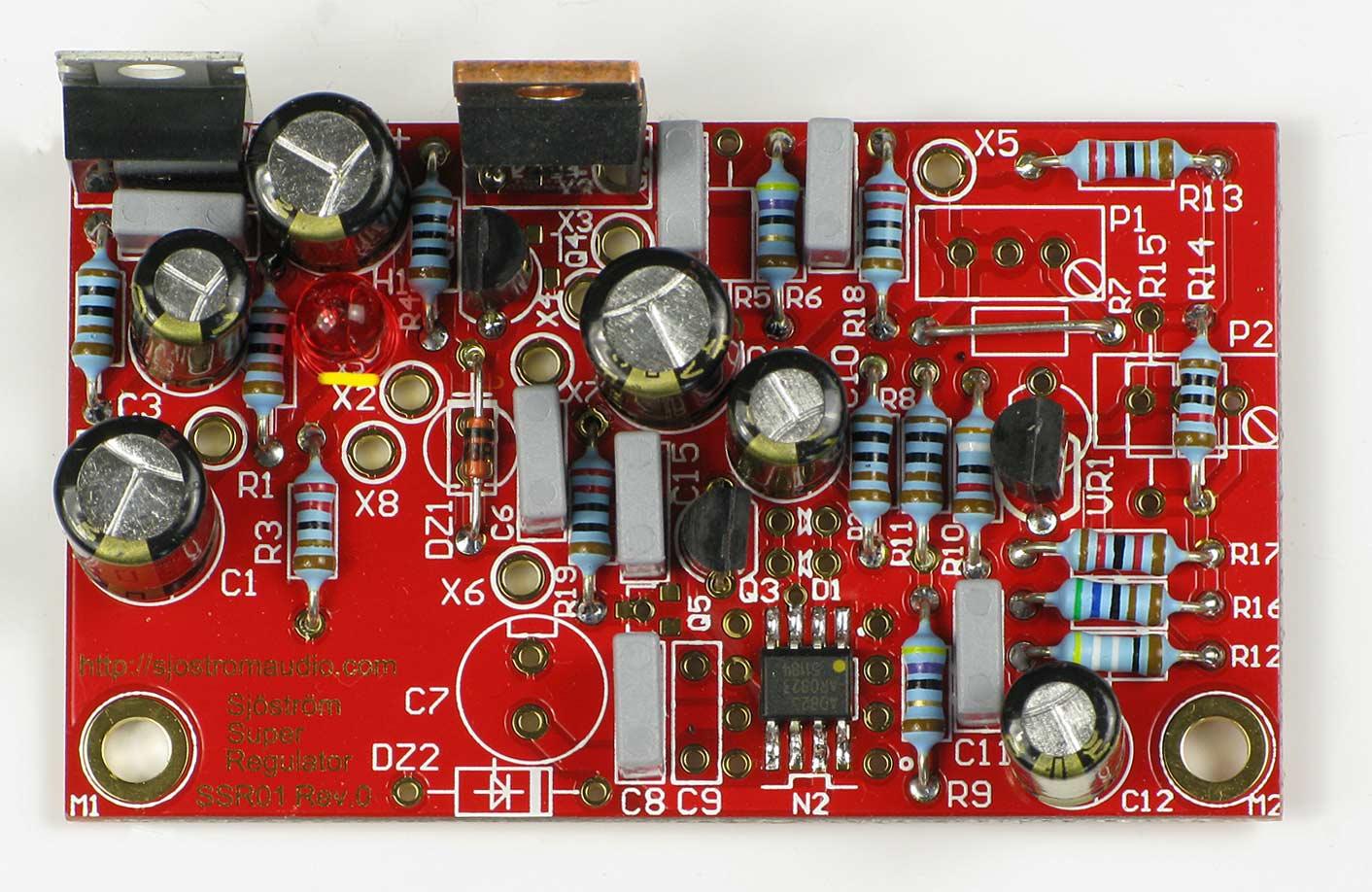 Sjstrm Audio Ssr01 Super Regulator Lm431 8 Pin Surface Mount Zener Shunt Circuit Schematic 18 V With