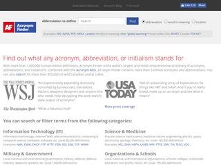 http://www.acronymfinder.com