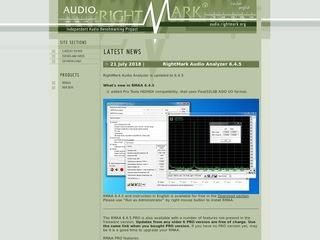 http://audio.rightmark.org