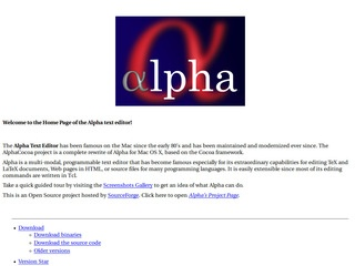 http://alphacocoa.sourceforge.net